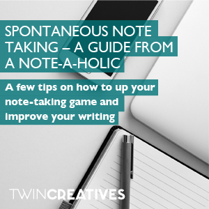 Spontaneous note taking guide